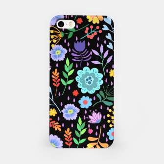 Thumbnail image of Cute colorfu flowers pattern iPhone Case, Live Heroes