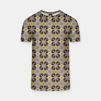 Thumbnail image of Geometric Tile Pattern T-shirt, Live Heroes