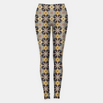 Miniature de image de Geometric Tile Pattern Leggings, Live Heroes