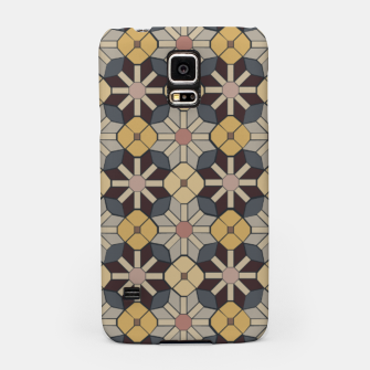 Thumbnail image of Geometric Tile Pattern Samsung Case, Live Heroes