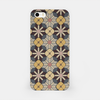 Thumbnail image of Geometric Tile Pattern iPhone Case, Live Heroes