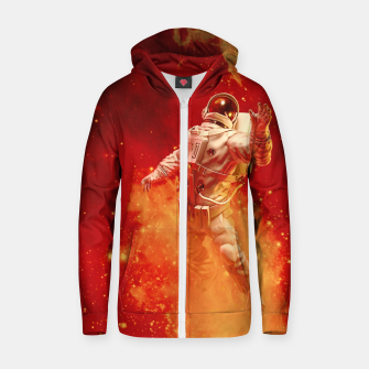 Thumbnail image of Heaven In My Reach Astronaut Zip up hoodie, Live Heroes