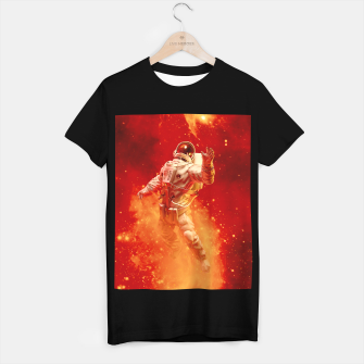 Thumbnail image of Heaven In My Reach Astronaut T-shirt regular, Live Heroes