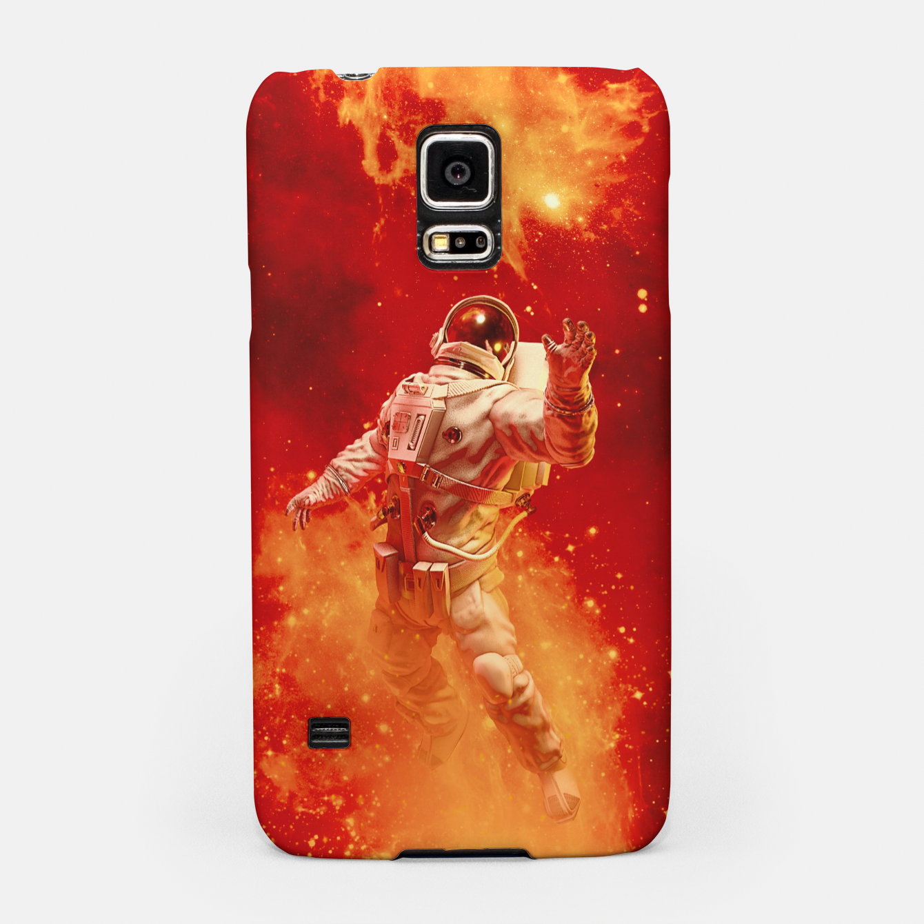Image of Heaven In My Reach Astronaut Samsung Case - Live Heroes