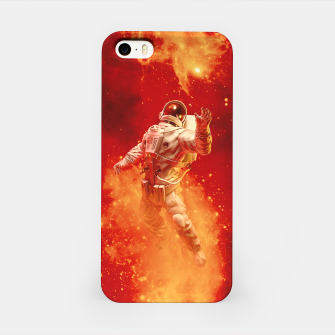 Miniatur Heaven In My Reach Astronaut iPhone Case, Live Heroes