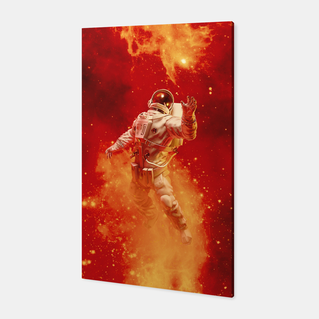 Image of Heaven In My Reach Astronaut Canvas - Live Heroes