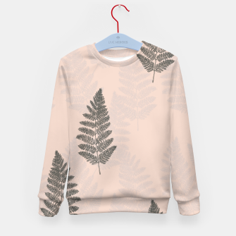 Thumbnail image of Fern .01 Kid's sweater, Live Heroes