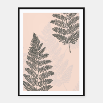 Thumbnail image of Fern .01 Framed poster, Live Heroes