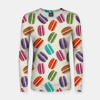 Thumbnail image of Macarons Women sweater, Live Heroes