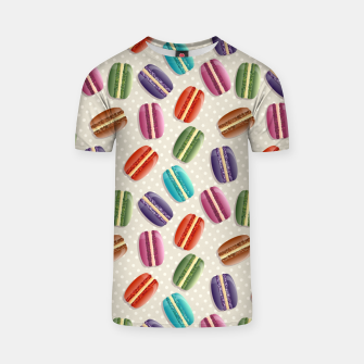 Thumbnail image of Macarons T-shirt, Live Heroes