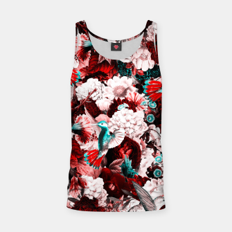 Thumbnail image of hummingbird paradise ethereal autumn flower pattern 2s Tank Top, Live Heroes