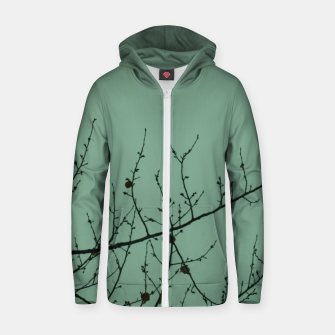 Miniaturka Branches and leaves Zip up hoodie, Live Heroes