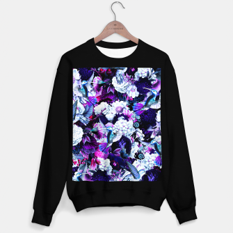 Thumbnail image of hummingbird paradise ethereal autumn flower pattern c80 Sweater regular, Live Heroes