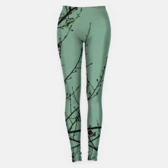 Miniature de image de Branches and leaves Leggings, Live Heroes