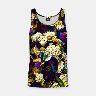 Thumbnail image of hummingbird paradise ethereal autumn flower pattern fn Tank Top, Live Heroes