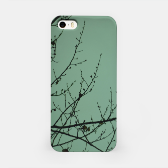 Miniature de image de Branches and leaves iPhone Case, Live Heroes
