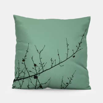 Miniatur Branches and leaves Pillow, Live Heroes