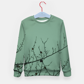 Miniature de image de Branches and leaves Kid's sweater, Live Heroes
