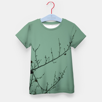 Thumbnail image of Branches and leaves Kid's t-shirt, Live Heroes