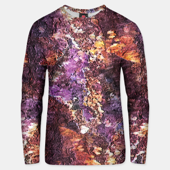 Colorful Rusty Abstract Print Unisex sweater obraz miniatury