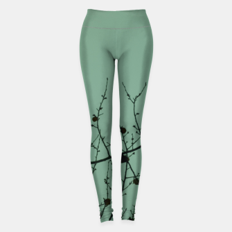 Thumbnail image of Branches and leaves Leggings, Live Heroes