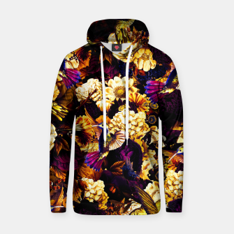 hummingbird paradise ethereal autumn flower pattern ls Hoodie miniature