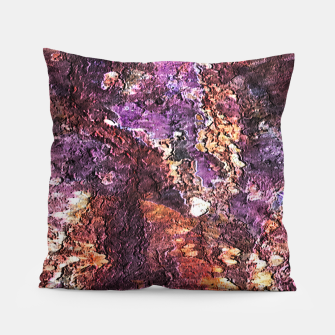 Colorful Rusty Abstract Print Pillow obraz miniatury