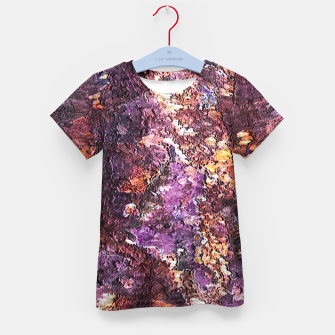 Colorful Rusty Abstract Print Kid's t-shirt obraz miniatury