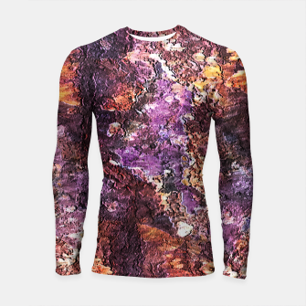 Colorful Rusty Abstract Print Longsleeve rashguard  obraz miniatury