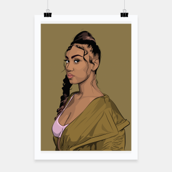 Thumbnail image of QUEENNAIJA Poster, Live Heroes