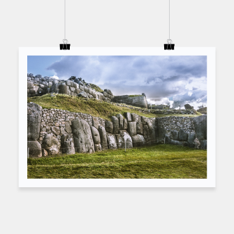 Thumbnail image of Sacsayhuaman Inca Fortress, Cusco, Peru Poster, Live Heroes