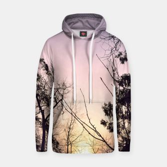 Thumbnail image of Sky colors and trees Hoodie, Live Heroes