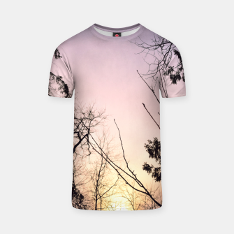 Thumbnail image of Sky colors and trees T-shirt, Live Heroes