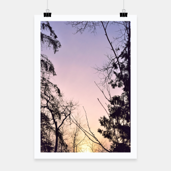 Thumbnail image of Sky colors and trees Poster, Live Heroes