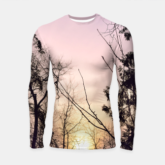 Thumbnail image of Sky colors and trees Longsleeve rashguard , Live Heroes
