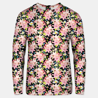 Thumbnail image of Floral Gardenscape Unisex sweater, Live Heroes