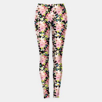 Thumbnail image of Floral Gardenscape Leggings, Live Heroes