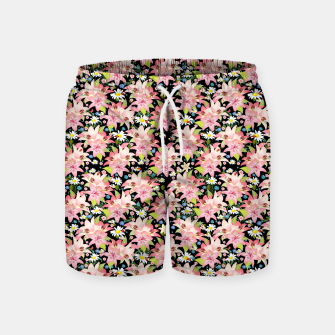Thumbnail image of Floral Gardenscape Swim Shorts, Live Heroes