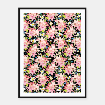 Thumbnail image of Floral Gardenscape Framed poster, Live Heroes