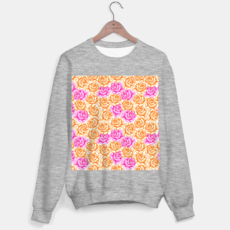Thumbnail image of Floral Pink Roses Sweater regular, Live Heroes