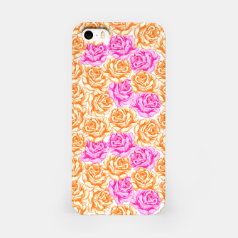 Thumbnail image of Floral Pink Roses iPhone Case, Live Heroes