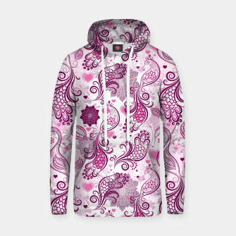 Thumbnail image of Floral Red Peacock Hoodie, Live Heroes