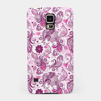Thumbnail image of Floral Red Peacock Samsung Case, Live Heroes