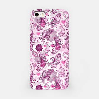Thumbnail image of Floral Red Peacock iPhone Case, Live Heroes