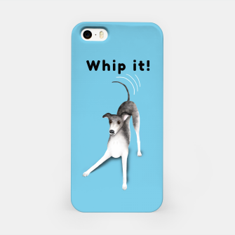 Miniature de image de Whip it! (Light Blue) iPhone Case, Live Heroes