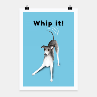 Miniature de image de Whip it! (Light Blue) Poster, Live Heroes