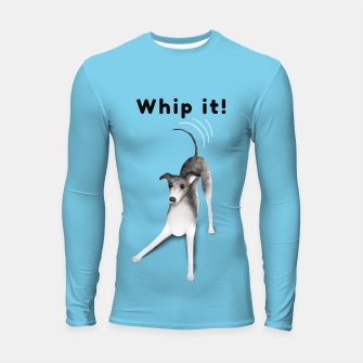 Miniature de image de Whip it! (Light Blue) Longsleeve rashguard , Live Heroes