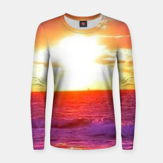 Thumbnail image of Sunset Women sweater, Live Heroes