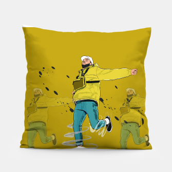 Miniatur CHRIS BROWN Pillow, Live Heroes