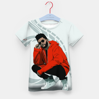 Thumbnail image of TheWeeknd Kid's t-shirt, Live Heroes